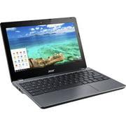 "Acer Chromebook C740-C3P1 Tablet Computer, 1.50 GHz Intel Celeron, 2GB DDR3 RAM, 16GB SSD Hard Drive, Chrome, 11"" Screen (Refurbished)"