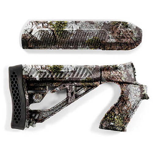 Adaptive Tactical EX Performance Adjustable Stock with Forend for Remington 870, 12g