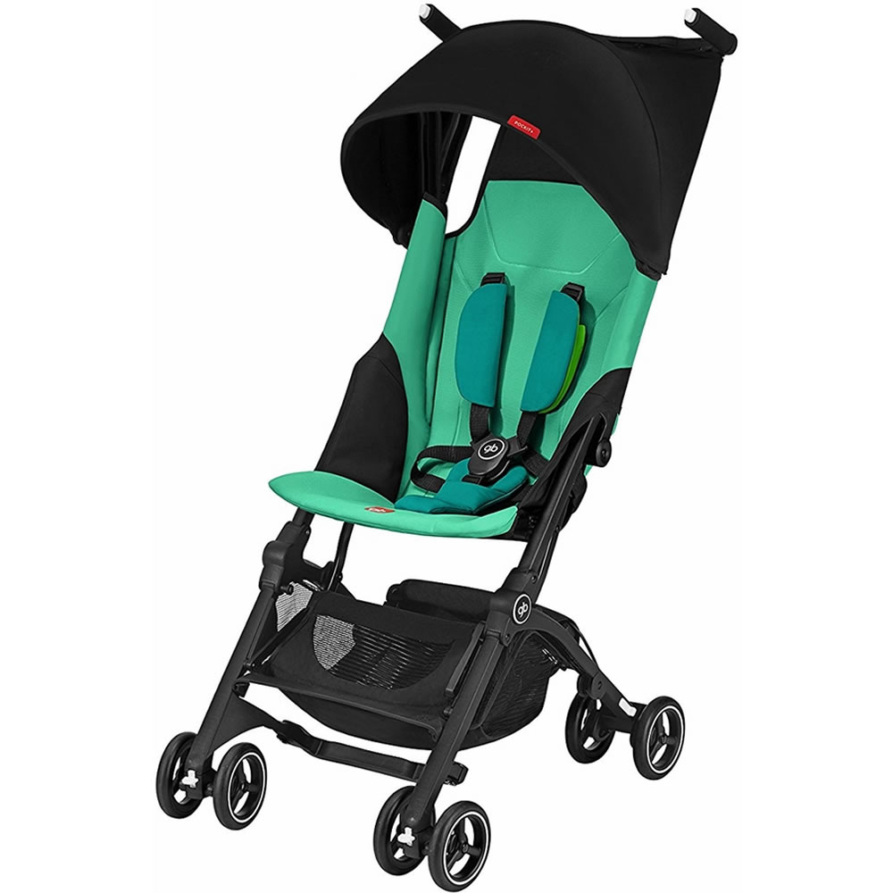 gb Pockit + Lightweight Stroller, Laguna Blue by GB