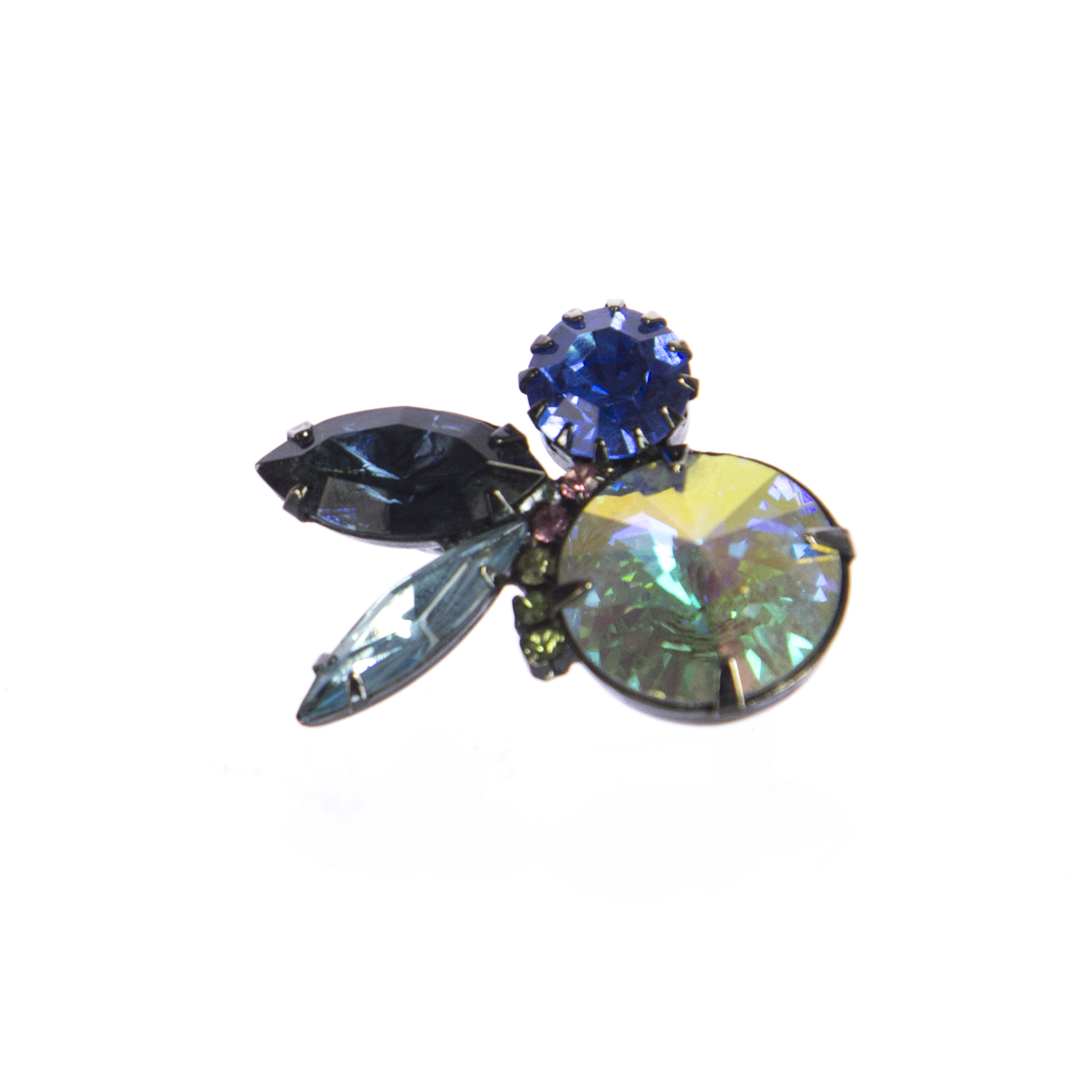 Joomi Lim Bijoux Brooch, Blue Multi by JoomiLim-9