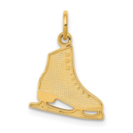 14K Yellow Gold Figure Skate - image 2 of 2