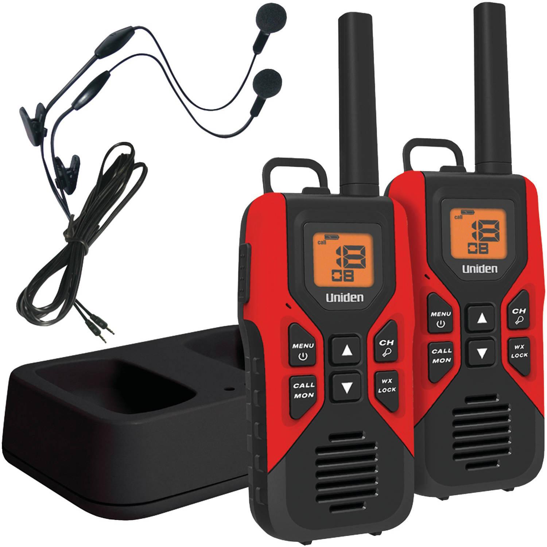 Uniden Portable Two Way Radios,0.9W,22 Ch,PR GMR3055-2CKHS
