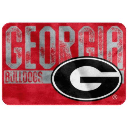 - Georgia Bulldogs NCAA Bathroom Decorative Foam Rug