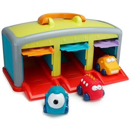 Playkidz Super Durable Monster Garage Vehicle Car Toys For Kids
