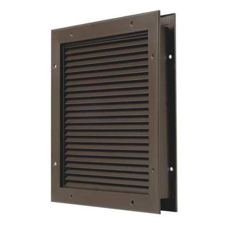 National Guard L 700 Bfdkb 20X20 No Vision Door Partition Louver Steel G1614588