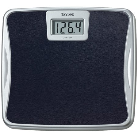 - Taylor Precision Products 73294072 Silver Platform Lithium Electronic Digital Scale