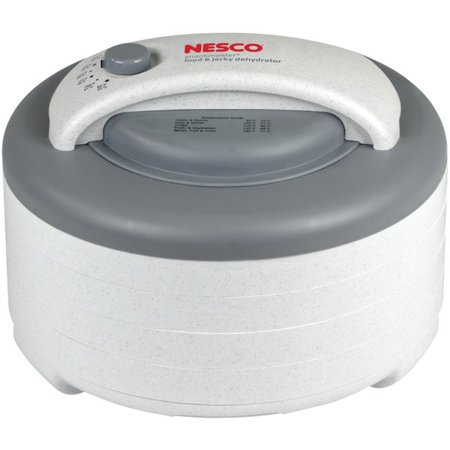 Nesco® 500-watt Food Dehydrator Nesco FD-61 500-Watt Food Dehydrator This nesco 500-watt food dehydrator is a high quality other kitchen appliances item from our housewares & personal care , kitchen appliances & accessories , small appliances & accessories , other kitchen appliances collections .
