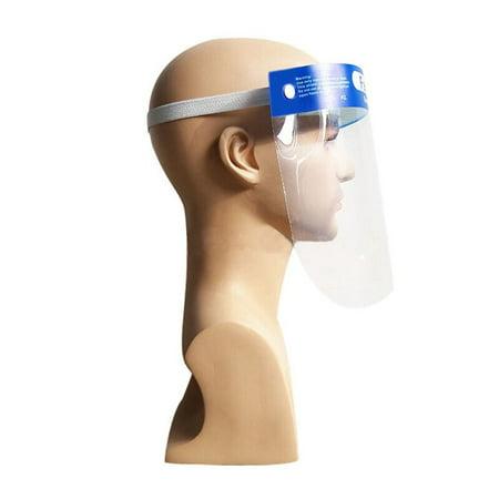 Isolation Screen Protective Mask Compression Volume Anti-Spray Face Shield - image 5 de 5
