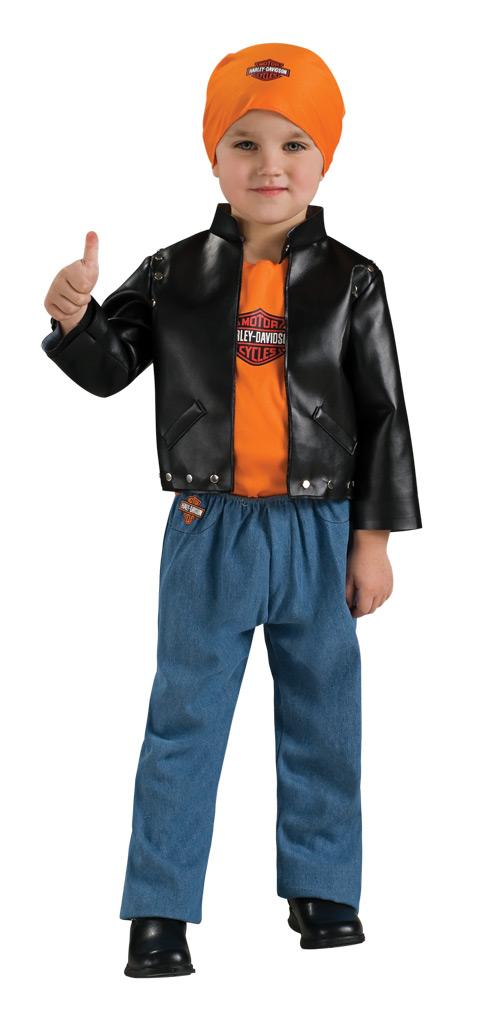 Harley Davidson Boy Baby Costume by Rubies