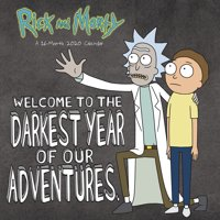 Trends International 2020 Rick and Morty Wall Calendar
