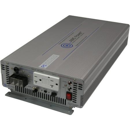 AIMS Power 2000 Watt 12 Volt Pure Sine Inverter with