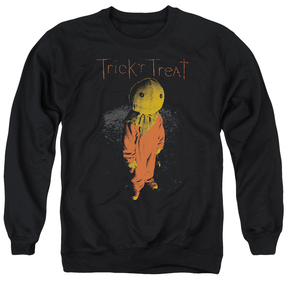 Trick R Treat Leaves Mens Crewneck Sweatshirt