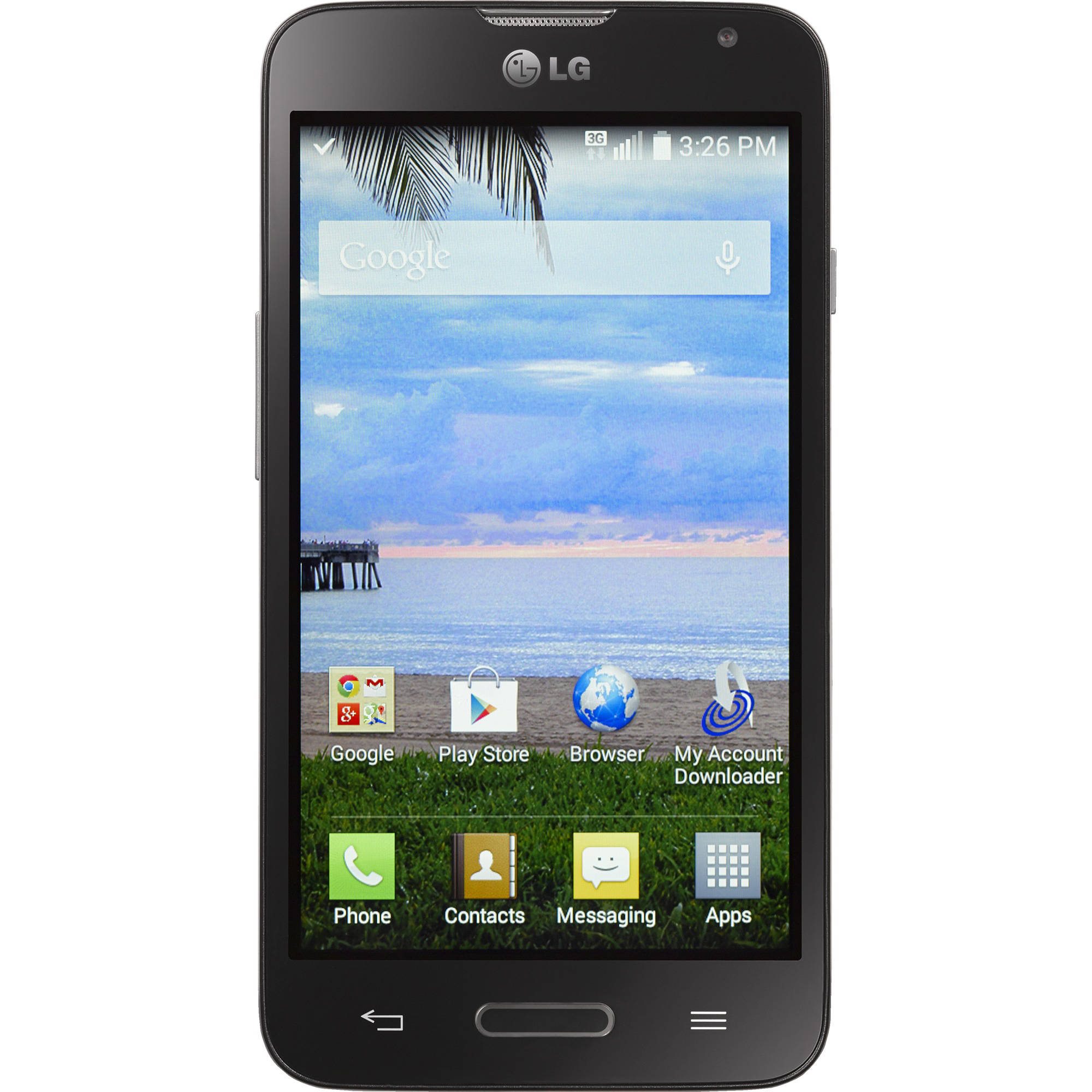 Straight Talk LG Ultimate 2 Android Refurbished Prepaid Smartphone w/ Bonus $45 30-Day Plan