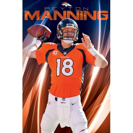 hot sale online ae42d 1f720 Denver Broncos Peyton Manning NFL Football Sports Poster ...
