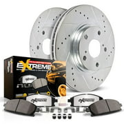 Power Stop Rear Z36 Truck & Tow Brake Pad and Rotor Kit K5487-36