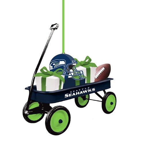Evergreen Enterprises, Inc Team Wagon Ornament Hanging Figurine