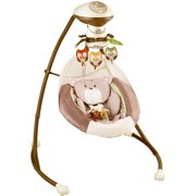 Fisher-Price Cradle 'n Swing with 6-Speeds, My Little Snugabear