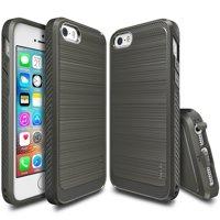 iPhone SE / 5S / 5 Case, [Ringke ONYX] Ultimate Ergonomic Design Advanced Slim Snug Fit TPU Defensive Case - Mist Gray