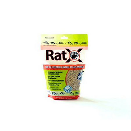 RatX Mouse and Rat Bait, 8oz (Best Mouse And Rat Traps)