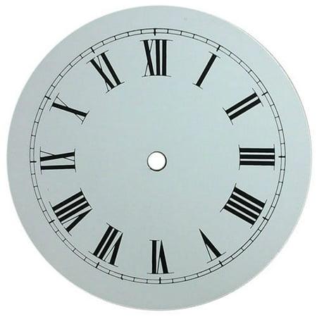 Clock Parts -Round Circle Metal Clock Dial for DIY clocks by (Circle Track Parts)