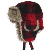 The Children's Place Big Boy Plaid Trapper Hat