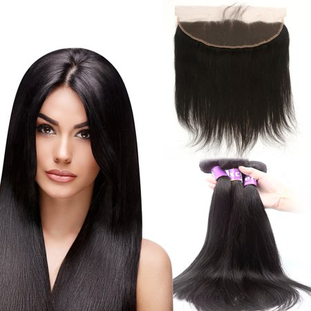 Human Hair Virgin Straight 12-30