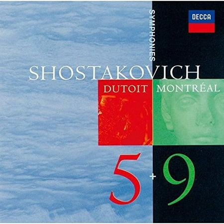 Shostakovich: Symphonies 5 & 9 (CD)