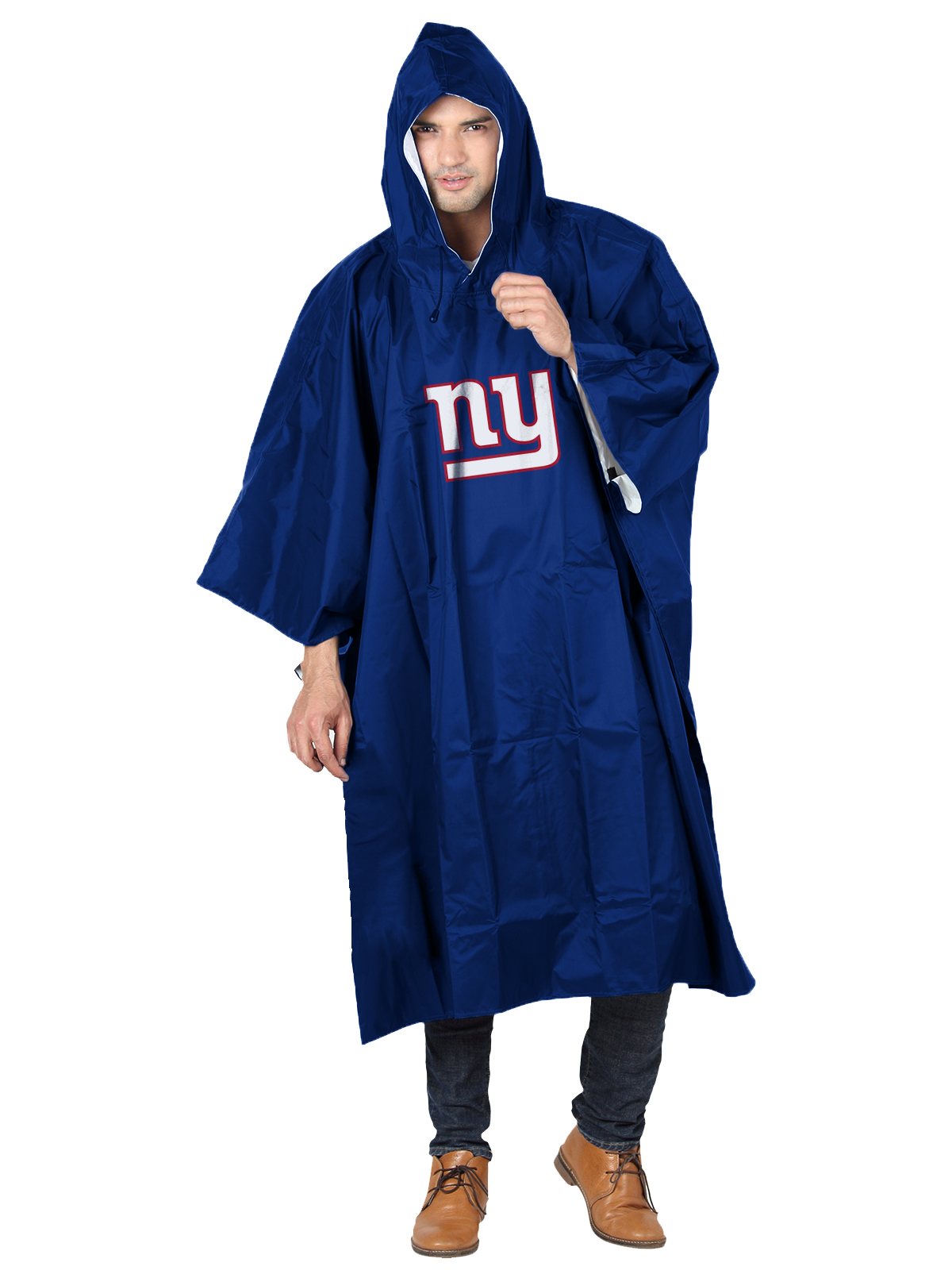 NFL New York Giants �Deluxe� 44�H x 49�W (Adult Size) Poncho by The Northwest Company