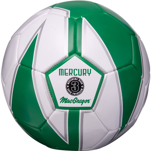 MacGregor Mercury Club Soccer Ball, Size 3