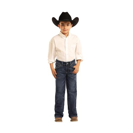 Rock and Roll Denim, Boys BB Gun Jeans, Regular Fit Bootcut, Size yR BB-3418