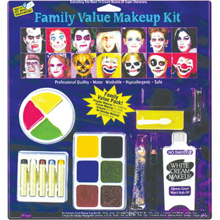 Festival Family Kit Halloween Makeup - Tutorial Halloween Makeup Skull