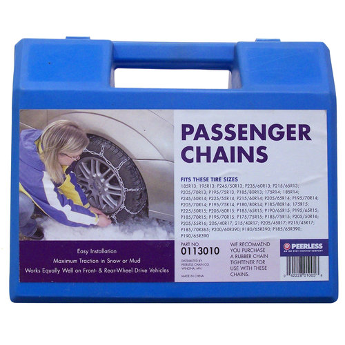 Peerless Passenger Car Tire Chains, #113010