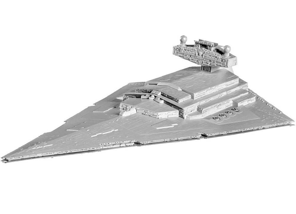 Revell Star Wars Snaptite Build and Play Imperial Star Destroyer Plastic Model Kit by Revell