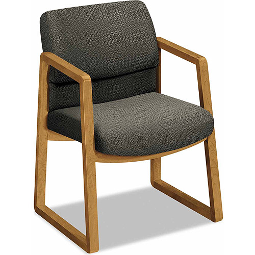 Hon 2400 Series Guest Arm Chair, Harvest Finish