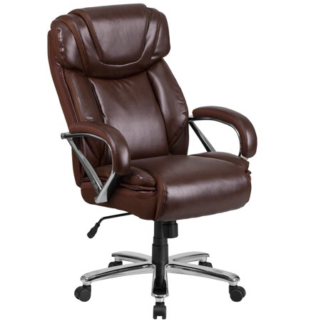 - Lancaster Home HERCULES Series Big & Tall 500 lb. Rated Bonded Leather Executive Swivel Chair with Extra Wide Seat