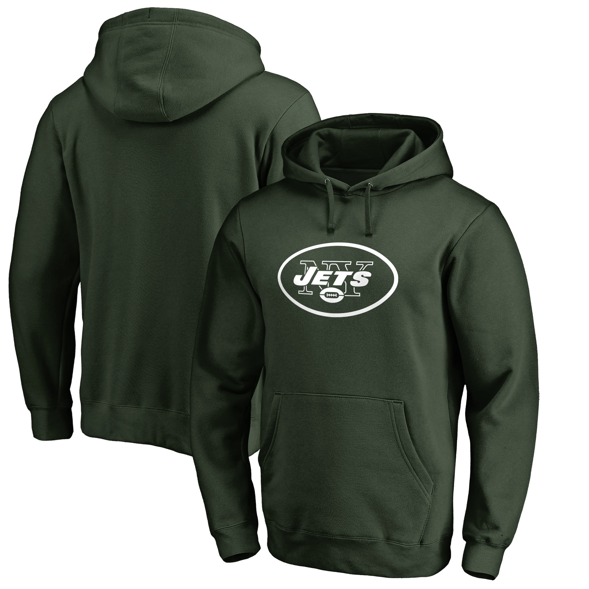 New York Jets NFL Pro Line by Fanatics Branded Big & Tall Primary Logo Hoodie - Green