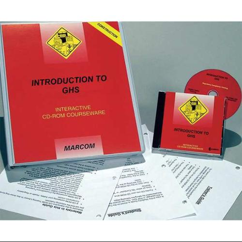 Marcom C0001590SD Intro to GHS, Construction, CD-ROM, Spa...