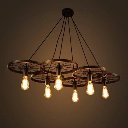 Renaissance 6 Light Oval Chandelier - Warehouse of Tiffany Edison Nathaniel 6 Light Chandelier
