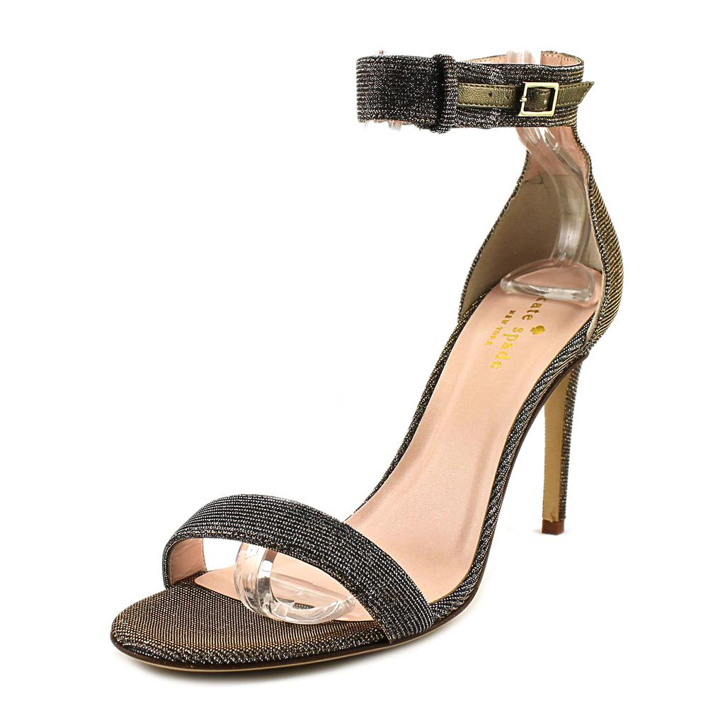 Kate Spade Isa Open Toe Canvas Sandals by kate spade