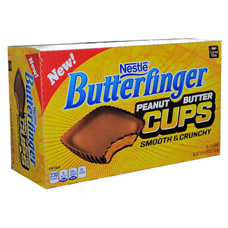 Nestle Butterfinger Peanut Butter Cups, 1.5 Ounce (Pack of 24)