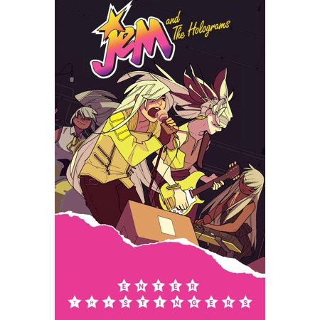 Jem and the Holograms, Vol. 4: Enter The - Jem And The Holograms Costume