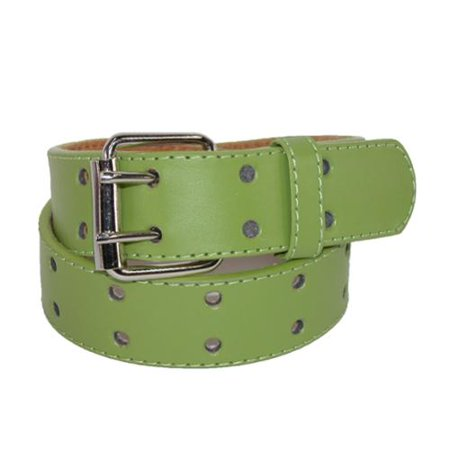 Kid's Leather Two Hole Jean Belt ()