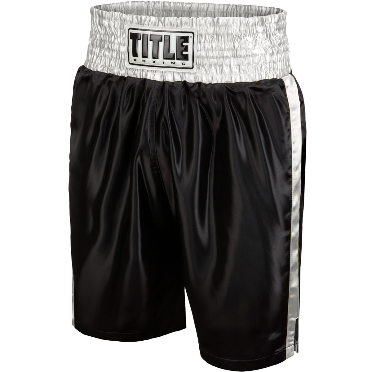 Title Boxing Classic Edge Satin Performance Boxing Trunks