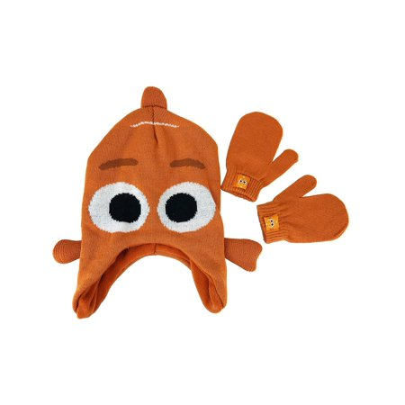 Disney Finding Dory Boys Nemo Knit Winter Hat and - Nemo Hat