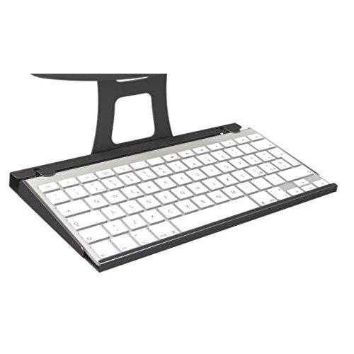 MacLocks Secure Apple iPad Enclosure Keyboard Tray - Black