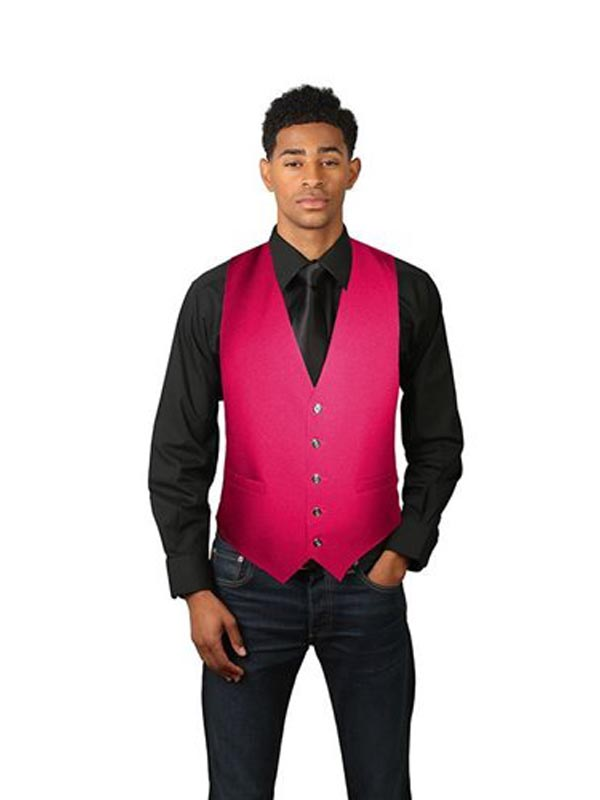 Men's Full Back Dress Vest