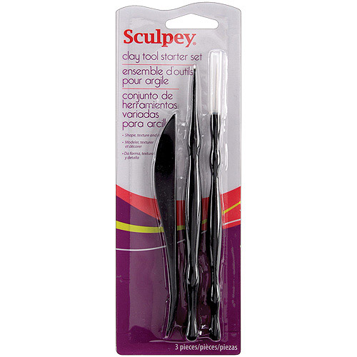 Polyform Sculpey Clay Tool Starter Set
