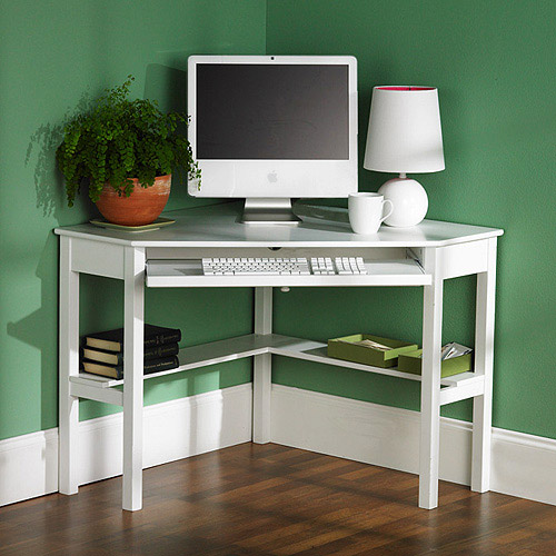 Classic Corner Writing Desk, Multiple Finishes