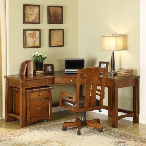 Riverside Craftsman Home Corner Desk