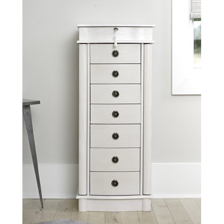 Hives & Honey Nora Standing Jewelry Armoire - (Armoire Honey)
